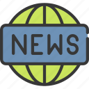 news, logo, press, journalist, report