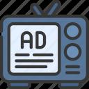 tv, ads, press, advertising, advertisement