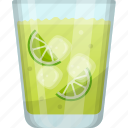 fresh juice, fruit juice, kiwi juice, natural drink, summer drink icon