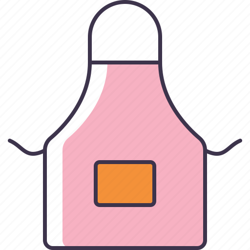apron, cooking, homemaker, kitchen icon