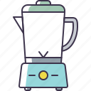 appliance, blender, kitchen icon