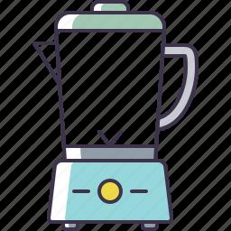 appliance, blender, kitchen icon