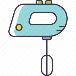 electric, mixer icon