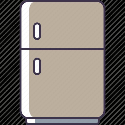 appliance, fridge, kitchen icon