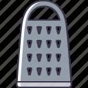 utensil, grater, kitchen icon
