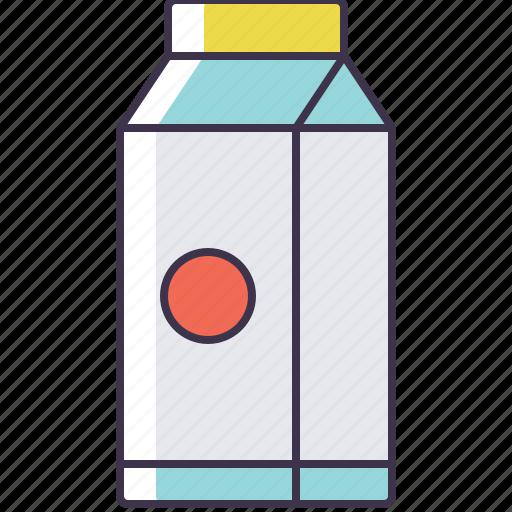 carton, milk icon