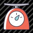 utensil, kitchen, scales icon