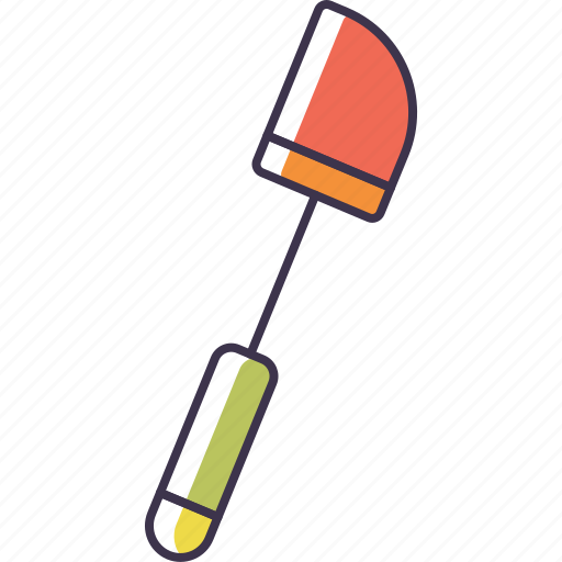 plastic, spatula icon