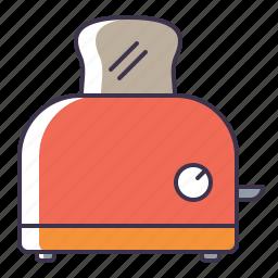 appliance, kitchen, toaster icon