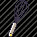 utensil, whisk, kitchen icon