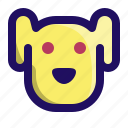 animal, dog, doggy, face, pet, puppy icon