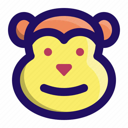 Animal, ape, chimp, face, monkey, primate icon - Download on Iconfinder