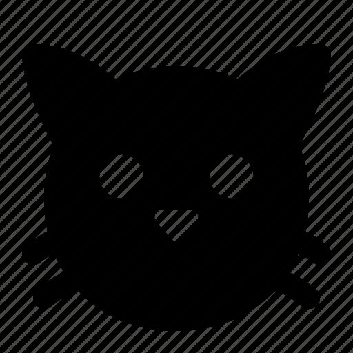 animal, cat, face, kitten, kitty, pet icon