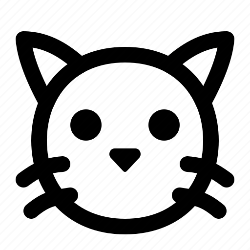 Animal, cat, face, kitten, kitty, pet icon - Download on Iconfinder