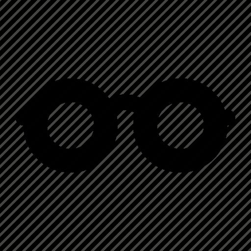 eye glasses, frame, geek, glasses, lenses, reading icon