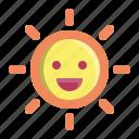 energy, happy, smile, solar, sun