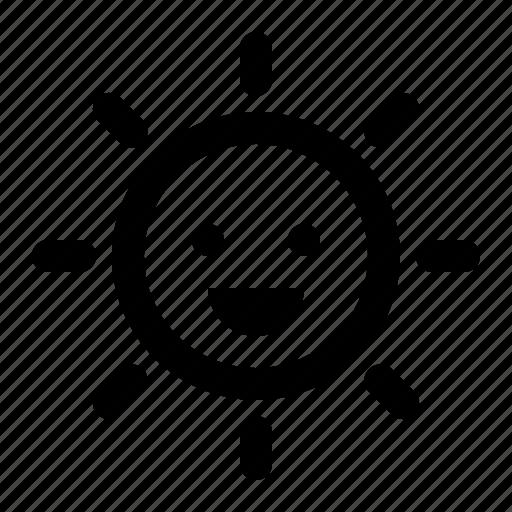 Energy, happy, smile, solar, sun icon - Download on Iconfinder