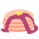 dinner, fast, food, lunch, meal, pancake, snack icon