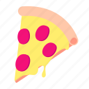 dinner, fast, food, lunch, meal, pizza, snack icon