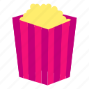 dinner, fast, food, lunch, meal, popcorn, snack icon