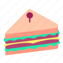 dinner, fast, food, lunch, meal, sandwhich, snack icon