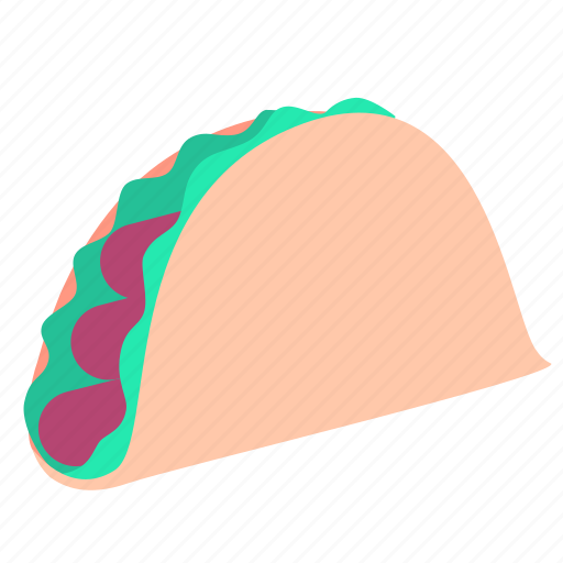 dinner, fast, food, lunch, meal, snack, taco icon