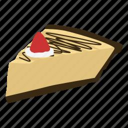 bakery, cake, cheese cake, dessert, junk food, shortcake, sweet icon
