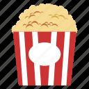 popcorn, snack, food, movie, junk food, party, sweet