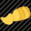 chip, snack, potato chips, potato, pringles, food, junk food
