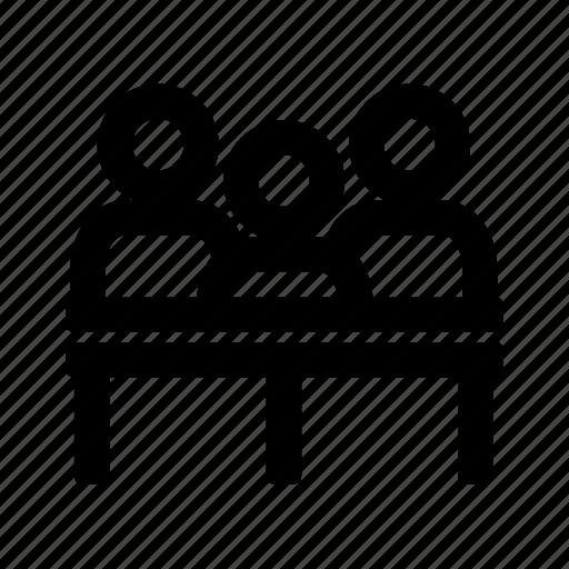 avatar, judge, man, profession icon