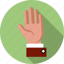 candidate, election, finger, gesture, hand, pro, vote icon