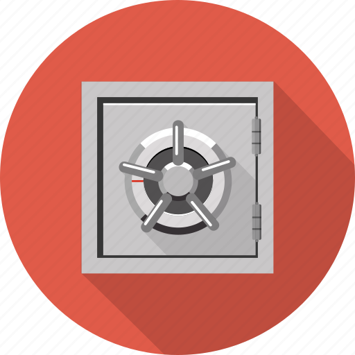 banking, business, currency, deposit, finance, safety, secure icon