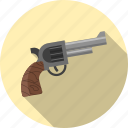 danger, firearm, gun, pistol, protection, secure, weapon icon