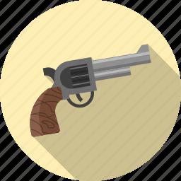 danger, firearm, gun, pistol, protection, secure, weapon icon