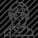 soldier, military, army, man, avatar, helmet, vest