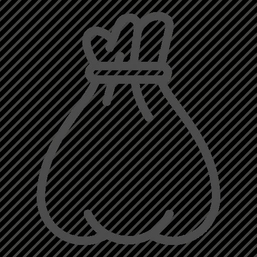 Bag, santa, christmas, sack, gift, present, bagful icon - Download on Iconfinder