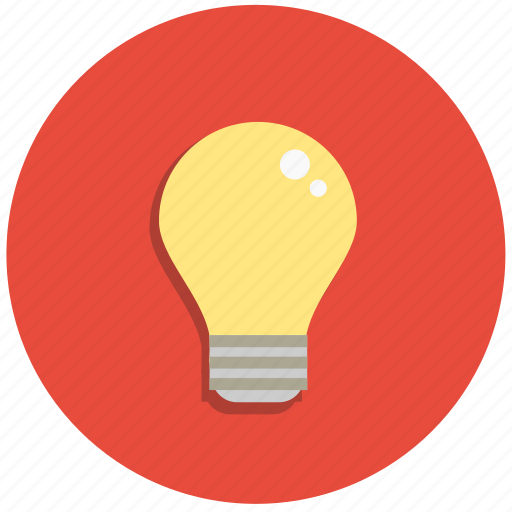 bulb, creative, electric, idea, lamp, light icon