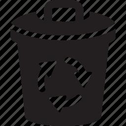bin, clean, dust, keep, recycle, trash, waste icon