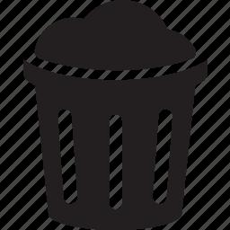bin, clean, dust, full, keep, trash, waste icon