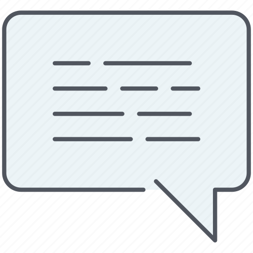 bubble, chat, communication, message, speech, talk, testimonial icon