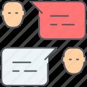 chat, communication, dialogue, speech, talk