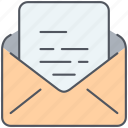 chat, communication, envelope, letter, post, postal, talk icon