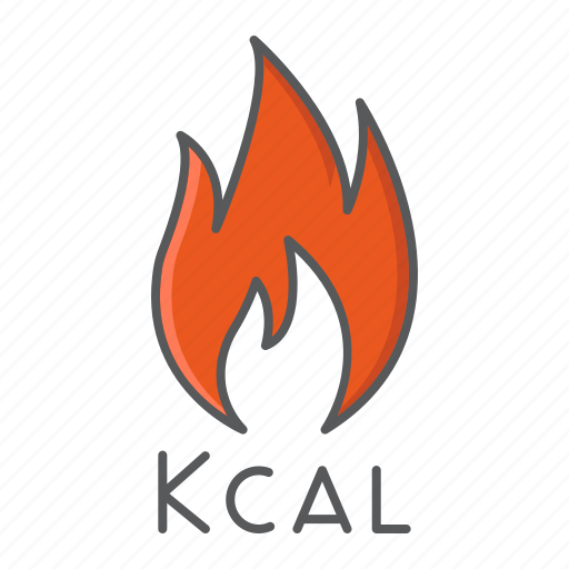 Burn, calorie, calories, fire, loss, sign, weight icon