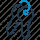 defence, key, keys, lock, padlock, security icon