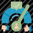 kpi, dashboard, excellence, poll, feedback, satisfaction, customer, good, bad, survey icon