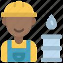 oil, worker, profession, job, engineer