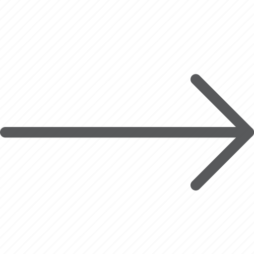 arrow, forward, keyboard, move, movement, next, right icon