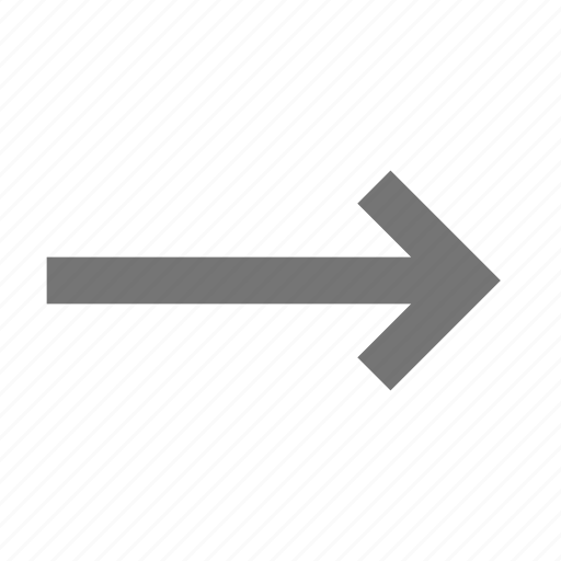 arrow, controls, forward, key, keyboard, right, sign, type icon
