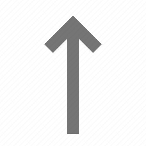 arrow, up arrow icon