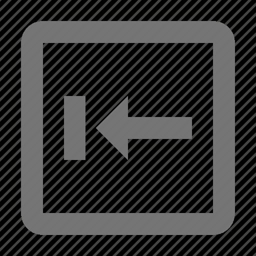 arrow, backtab, controls, key, keyboard, left, sign, type icon